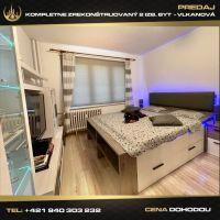 2 izbový byt, Vlkanová, 47 m², Kompletná rekonštrukcia