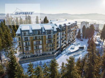 Skolaudovaný 1-izbový apartmán v TOP LOKALITE - Štrbské Pleso - HOTEL OVRUČ