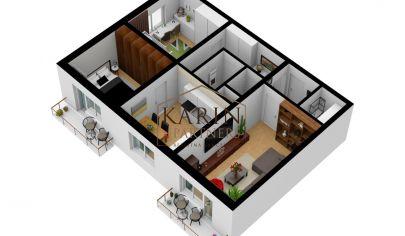 REZERVOVANÉ !!!   Na predaj veľký, svetlý 3 izb. byt, Sereď