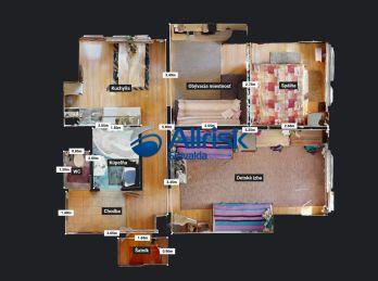 3 +kk byt predaj,DUBOVÁ,LOGGIA,62,5 m2