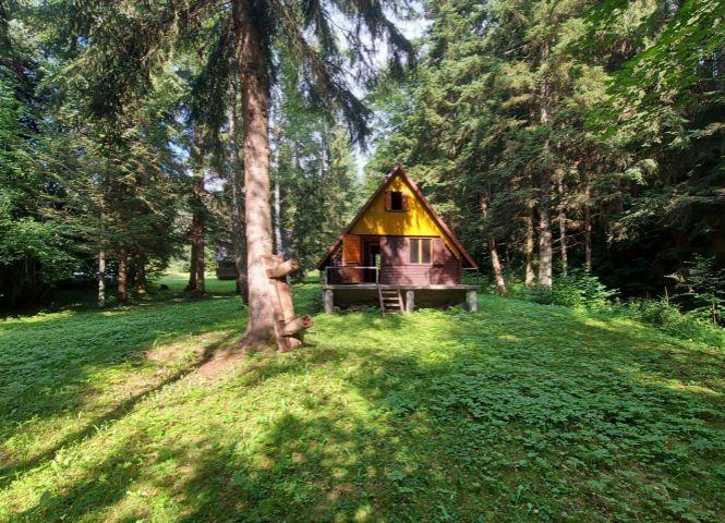 chata, drevenica, zrub - Poniky - Fotografia 1