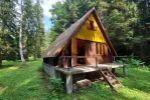 chata, drevenica, zrub - Poniky - Fotografia 2