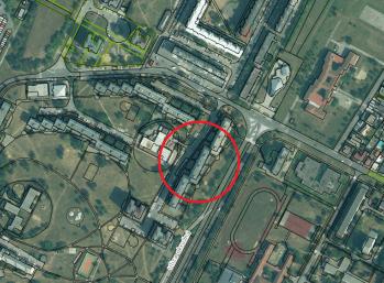 Lučenec, VYHĽADÁVANÁ LOKALITA Rúbanisko II blok A, 3 izbový byt s balkónom v pôvodnom stave na 8 podlaží z 8-ich