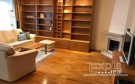 PRENÁJOM 3 izbový priestranný byt s krbom Novostavba Bratislava Ružinov  EXPIS REAL