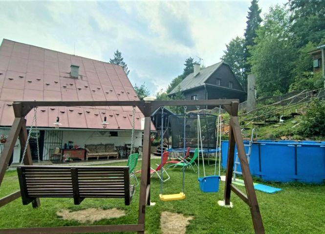 chata, drevenica, zrub - Vyšné Ružbachy - Fotografia 1