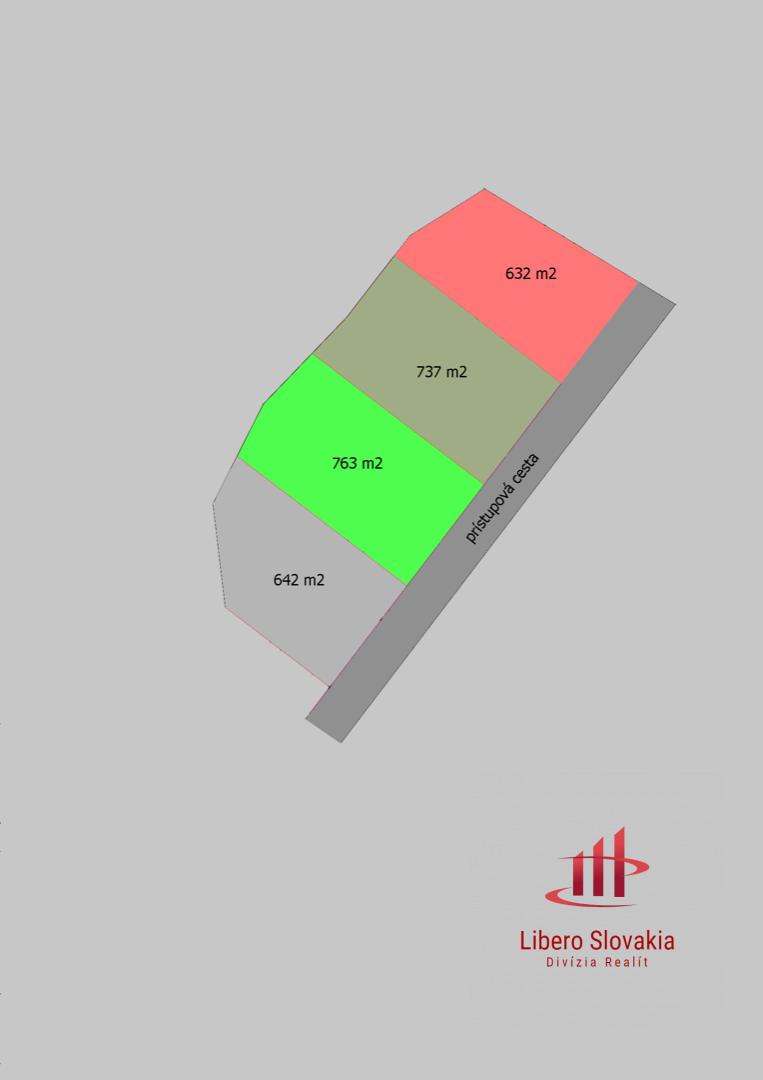 Pozemok pre RD-Predaj-Vinné-34 500 €