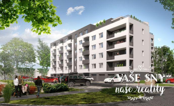 OS Halalovka, Bytový dom č.4, 2-izbový byt č. 7 so ZÁHRADKOU v štandardnom prevedení za 122.000 €