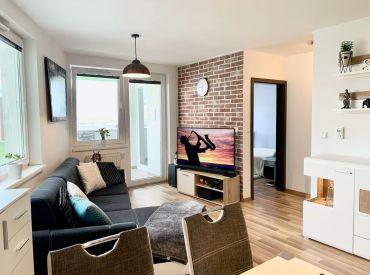 PREDANÉ Predaj nového 2i bytu v obľúbenej lokalite na Rustaveliho v Rači