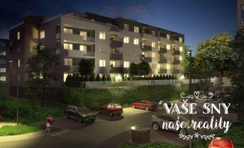 OS Halalovka, Bytový dom č.4, 3-izbový byt č. 8 so ZÁHRADKOU v štandardnom prevedení za 189.000 €