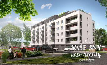 OS Halalovka, Bytový dom č.4, 2-izbový byt č. 13 v štandardnom prevedení za 97.500 €