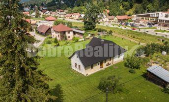 REZERVOVANÉ: Dom ako na dlani - 180 m2 podlahová plocha, 1600 m2 pozemok, Čierny Balog - Závodie, okres Brezno