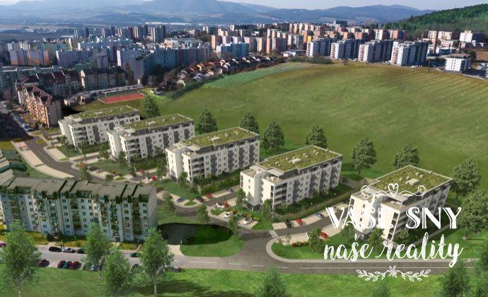 OS Halalovka, Bytový dom č.4, 2-izbový byt č. 24 v štandardnom prevedení za 117.000 €