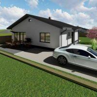 Rodinný dom, Veľký Šariš, 93 m², Vo výstavbe