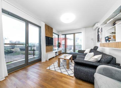 REZERVOVANÝ - Na predaj moderný 3 izbový byt v projekte Cubicon Gardens