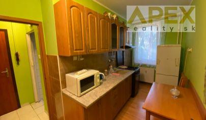 Exkluzívne APEX reality prenájom zariadeného 1i. bytu na Závalí, 34 m2