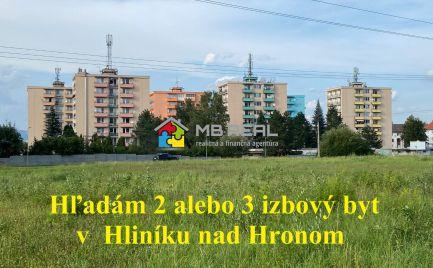 KÚPA bytu - Hliník nad Hronom