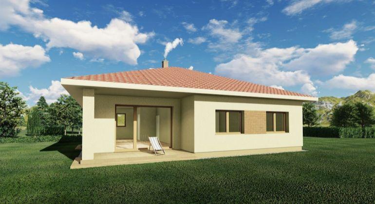 Novostavby moderných 4-izbových domov na priestrannom pozemku od 640 m2
