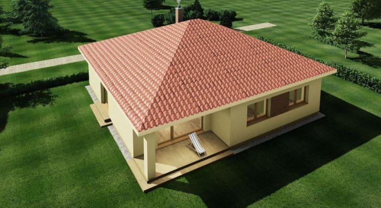 Novostavba modernéh 4-izbového domu na priestrannom pozemku