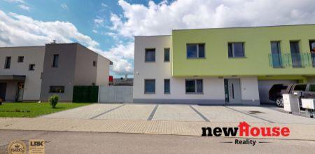 NA PRENÁJOM 3i byt - novostavba vo veľmi tichej lokalite (zástavba rodinných domov) s 2 parkovacími státiami