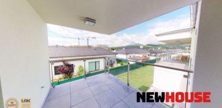 NA PRENÁJOM 4i byt s terasou - novostavba vo veľmi tichej lokalite (zástavba rodinných domov) s 2 parkovacími státiami