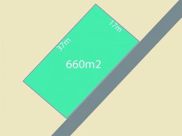 Na predaj stavebný pozemok 660m2 Pruské - Savčiná