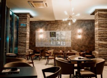 Odstúpenie zabehnutá kaviareň - bar v centre mesta.