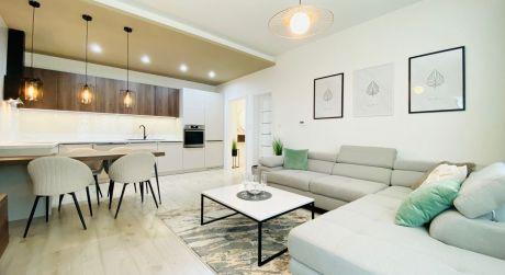 Na prenájom nadštadardný 2 izbový byt s garáž. státim v novostavbe - Saratovská TN