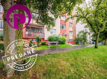 REZERVOVANÉ - 1i BYT– BA IV – LAMAČ, 43 m2 veľký byt so samostatnou kuchyňou a krásnymi výhľadmi.