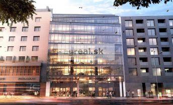Kancelárske priestory 1233 m² v novostavbe na Nám. 1 mája, parking, klimatizácia, optika