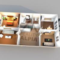 3 izbový byt, Kysucké Nové Mesto, 70.50 m², Pôvodný stav