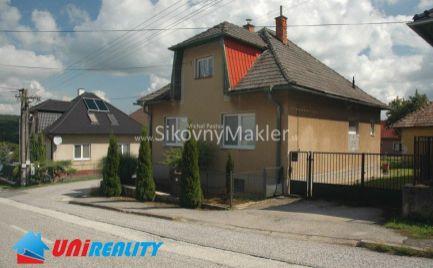 REZERVOVANÉ !!! BREZOLUPY / Zrekonštuovaný rodinný dom / pozemok 1.080 m2 / Garáž / IBA U NÁS !!!