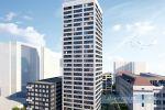 Predáme 4 izb. byt Jegeho alej  + 2x garážové státie a 3x komora - Danubius One  22 poshodie - vo výstavbe