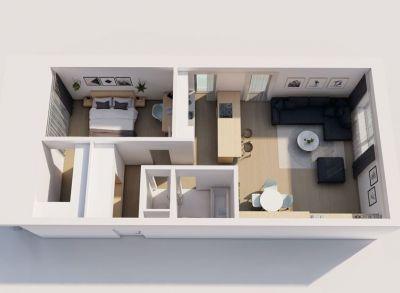 Byty Ruppeldtova: Na predaj veľký 2 izbový byt F3 v novostavbe, Martin - širšie centrum