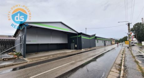Na predaj Podnikateľský priestor - Sklad, Výroba 692 m2, Trenčín