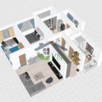 3 izbový byt, Považská Bystrica, 67 m², Čiastočná rekonštrukcia