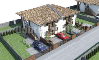 Nové 3-izbové byty na prízemí so záhradkou, terasou, parkovaním vo Veľkých Úľanoch
