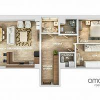 3 izbový byt, Košice-Šaca, 90 m², Kompletná rekonštrukcia