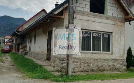 Ponúkame na predaj dom v obci Hubová