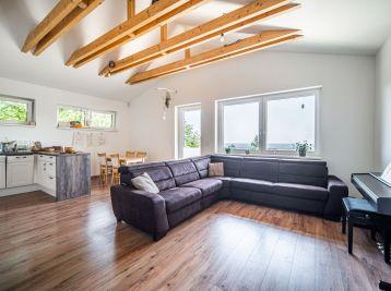 PROMINENT REAL predá nový 4 izb. RD v Rači pri lese.