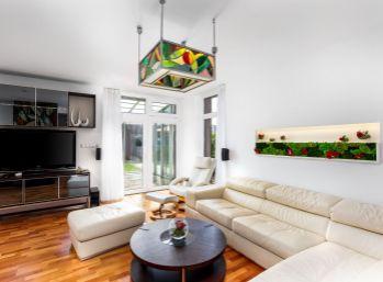 REZERVOVANÉ! PROMINENT REAL predá pekný moderný 5 izbový RD v Gánovciach s možnosťou ľahkej úpravy na dvojgeneračný.