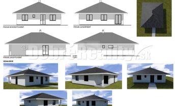 4-izbová tehlová novostavba bungalov v Kráľovej n/V, pozemok 608m2