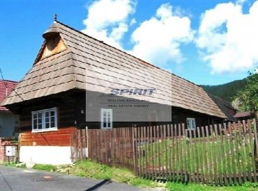 REZERVOVANÉ - Drevenica v malebnej dedinke Podbiel na predaj - Orava