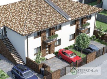 STEPREAL - BYT COMFORT - 3 izbový byt, novostavba, poschodová časť budovy s dvoma parkovacími miestami