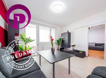 3i byt, 77m2 – BAV-Petržalka: VÝHĽADY, 2x LODŽIA, slnečný, tichý, ELEKTRIČKA o pár rokov, dobrí susedia, Chorvátske rameno