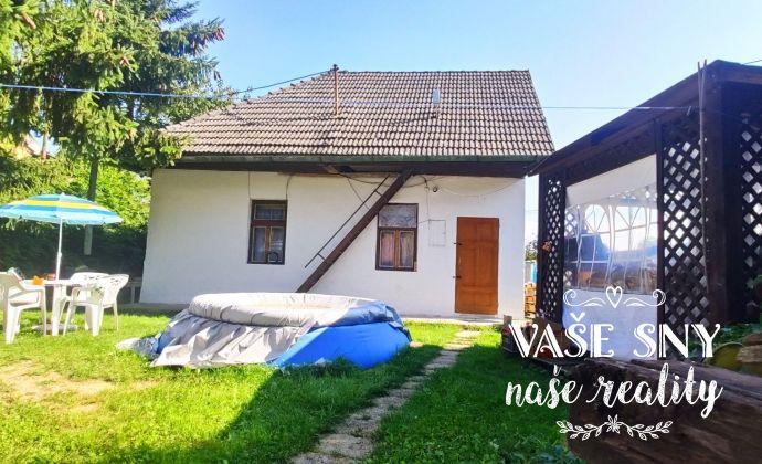 Domček na rekonštrukciu v krásnom prostredí Považského Inovca na predaj, Trenčianske Jastrabie
