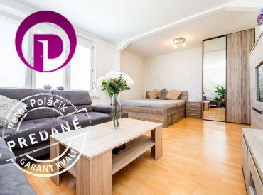 REZERVOVANÉ: Jedinečná ponuka – 1,5i byt s balkónom, 48 m2 – BA- Nové Mesto: byt s výbornou atmosférou vo vyhľadávanej lokalite
