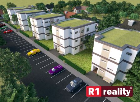 Nový 2 izbový byt B, 58,64 m2+ terasa, parking, SPA REZIDENCE, Banka, okr. Piešťany