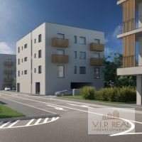 1 izbový byt, Rovinka, 36.80 m², Novostavba