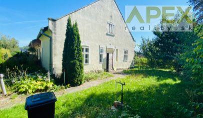 Exkluzívne APEX reality útulný vidiecky dom v tichej časti obce Horné Otrokovce