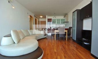 Prenájom -  III Veže, priestranný  a komplet. zariadený 2-izb. byt (65 m2) v s parkingom, ul. Bajkalská,  BA III- Nové Mesto